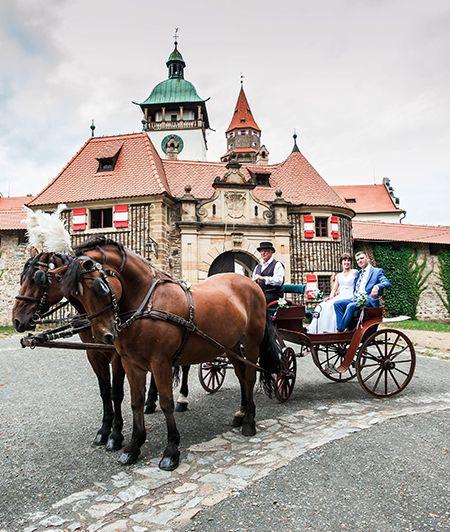 The Bouzov Castle